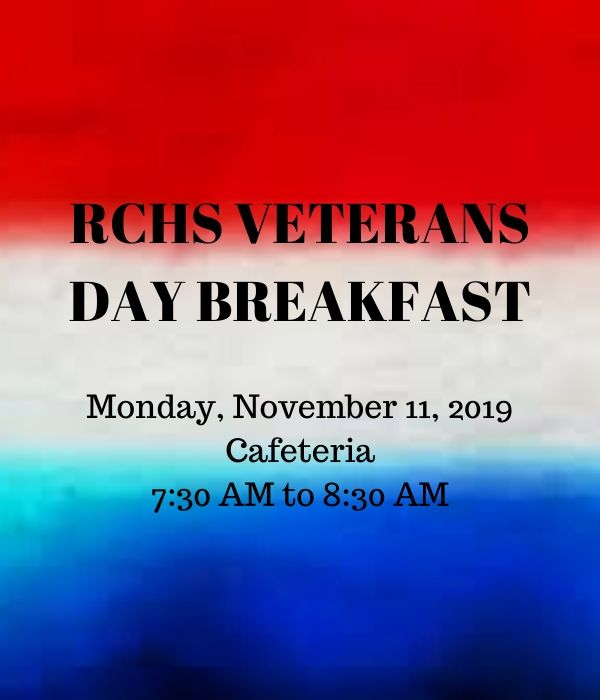 Veterans Day Announcement