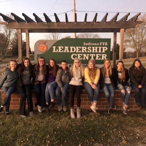 Rushville FFA to Attend FIRE Camp