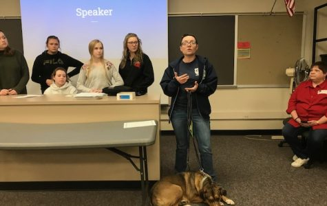 Animal Shelter Speaks to Key Club