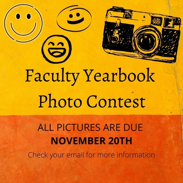 Faculty Yearbook Photo Contest