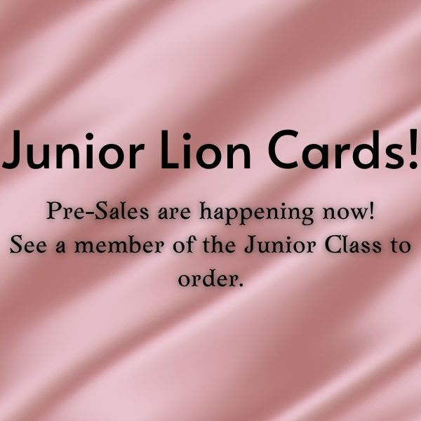 Lion Pride Cards
