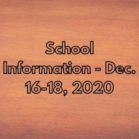Closure Updates - December 16-18