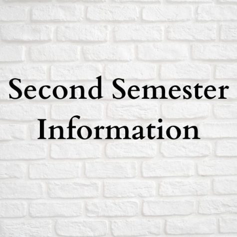 Second Semester Information