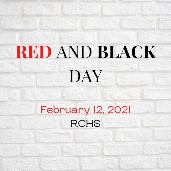 Red and Black Day on February 12th