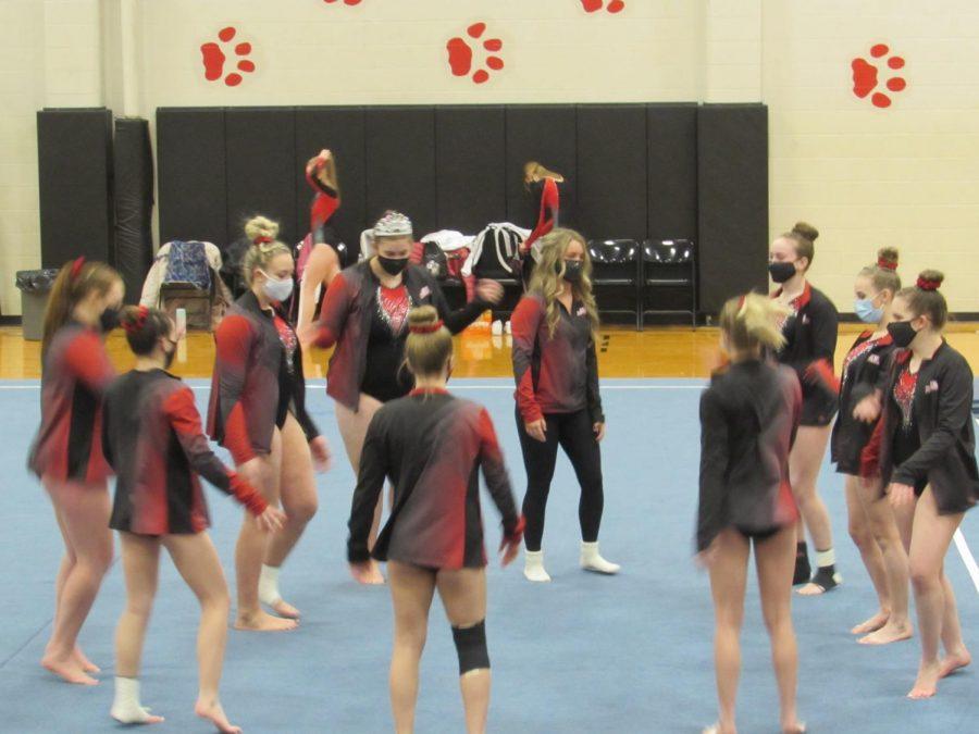 Gymnastics+Sectional