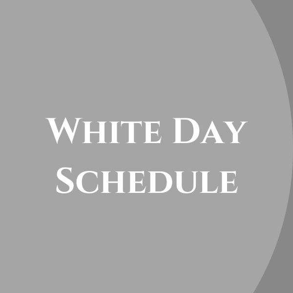 White Day on Friday